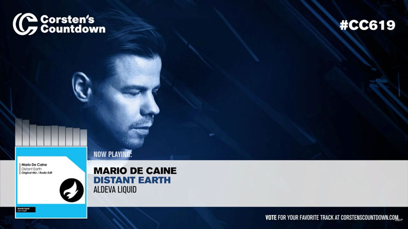 """Distant Earth"" on Corsten's Countdown Radio Show 619"